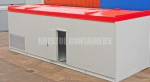 Custom Built Boiler and Oil Tank Storage Container