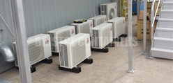 air conditioned containers