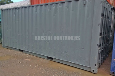Shoe Retailer Container Storage