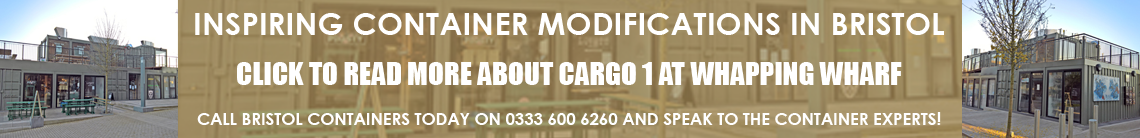 Cargo 1 Containers Bristol